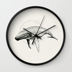 'Wildlife Analysis VII' Wall Clock