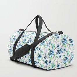 Tropical Blue Duffle Bag