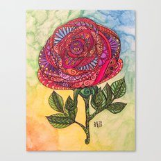 Just Rosy Canvas Print