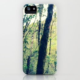 Personal Forest iPhone Case