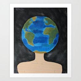 Thinking Globally Art Print