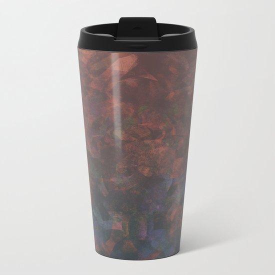Camouflage XIV Metal Travel Mug