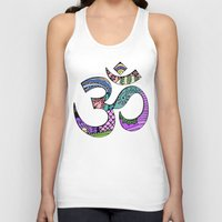 ohm Tank Tops featuring Ohm by Ilse S