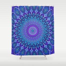 Lights of Avatar Mandala Art Shower Curtain