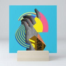 Hovering Along Mini Art Print