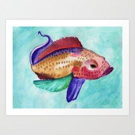 Jewel Fish Art Print