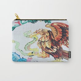 The Wings of Mexico Carry-All Pouch