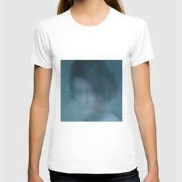 Antonina in the color grid T-shirt