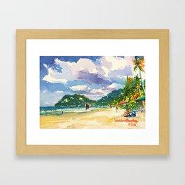 Maracas Chillax Framed Art Print