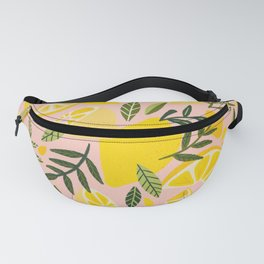 Lemon Blooms – Blush Palette Fanny Pack