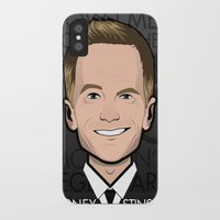 how i met your mother iPhone & iPod Cases featuring Barney Stinson - How I Met Your Mother by Mathieu Marcou