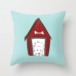 Home Sweet Great Pyrenees Home Throw Pillow