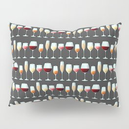 All the Wine Pattern Pillow Sham