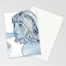 Lavender Diamond Stationery Cards