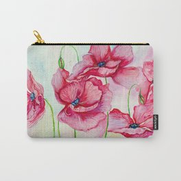 Poppies dance Carry-All Pouch