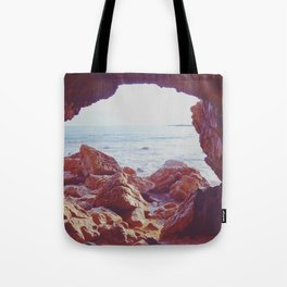 Waiting by the Sea Tote Bag