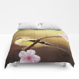 Spring Goldfinch Comforters