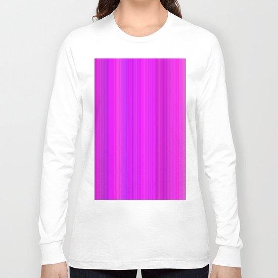 Vertical gradient Long Sleeve T-shirt