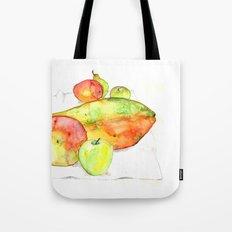 watercolor fruits Tote Bag