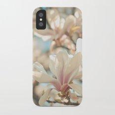 Under the Magnolia Tree iPhone X Slim Case