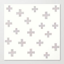 Swiss Cross Canvas Print