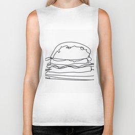 Cheeseburger Cheeseburger Biker Tank