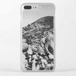 Big Rock 7414 Joshua Tree Clear iPhone Case