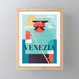 Venezia Framed Mini Art Print