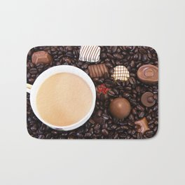 Coffee And Chocolate Delight Bath Mat