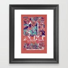 ACT 1 Framed Art Print