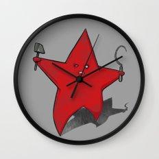 Zombie Star Wall Clock
