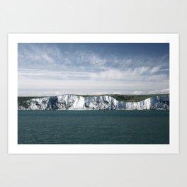 10 MILES Art Print
