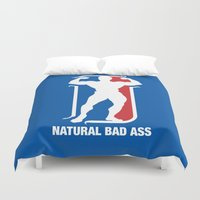 nba Duvet Covers featuring NBA by Free Specie