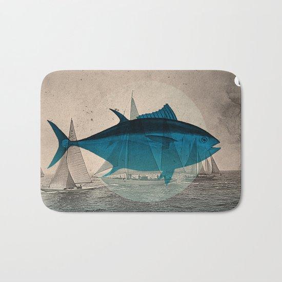 Northern Bluefin Bath Mat