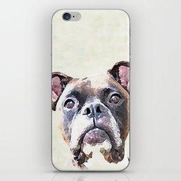 Brindle Boxer Dog iPhone Skin