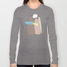 And at times it rains Long Sleeve T-shirt