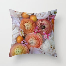 Flower Design 13 Throw Pillow