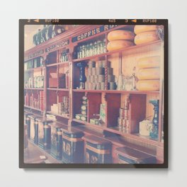At The Tea Shop Metal Print