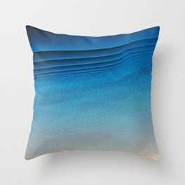 Was Clouds Throw Pillow