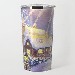 Warm Christmas Travel Mug