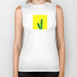 Your Stuck With Me - Yellow Biker Tank