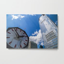 Is it time yet? Metal Print