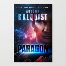 Paragon Book Cover Print Canvas Print