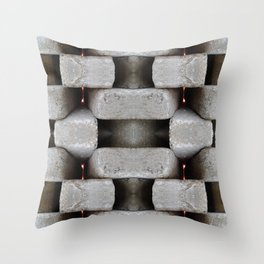 WALLS Dont Stop WARS Throw Pillow