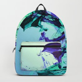 Vaporwave Style Abstraction Backpack