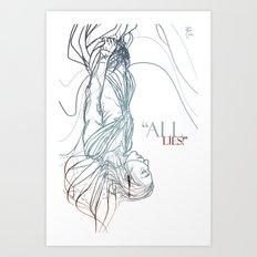 Loki II Art Print