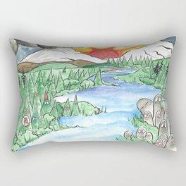 No Hate. Rectangular Pillow