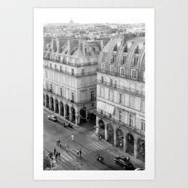 Paris No. 2 Art Print