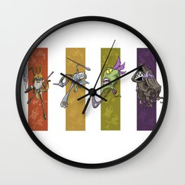 Dreamtime Characters Wall Clock