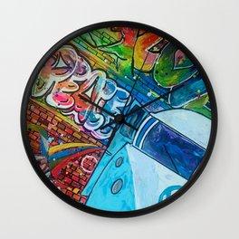 """""""Peace, Love, & Roadtrippin'"""" Wall Clock"""